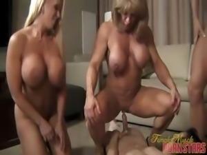 reverse gangbang porn striptease