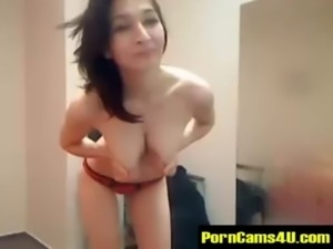 Sexy Brunette Beautiful Milk Tits Live Webcam Girl - PornCams4U.com free