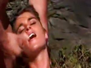 European Hot Brunette Nessa gets a Rough Dp