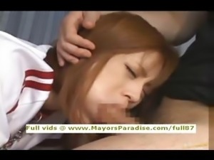 Azusa Itagaki innocentChinese girl enjoys being fucked hard