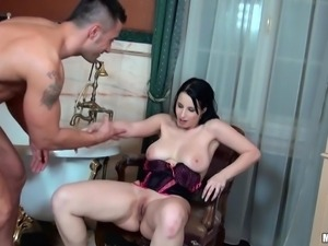 enthusiastic bitch wants cock really hard