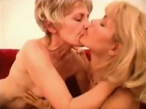 Grandma Likes It 3 Way,  Scene 4 Mature Mother
