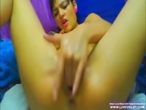 Milked latina babe masturbates and gets squirt free