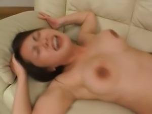 Sleeping japanese beauty bum banged