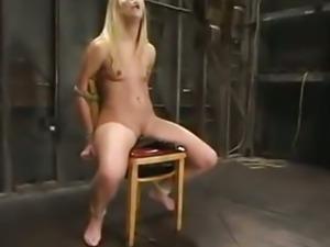 Leah Luv Squirting Bondage:::mrskyd:) bdsm bondage slave femdom domination