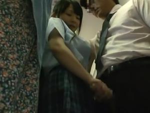 japanese slut wants it hard in the bus