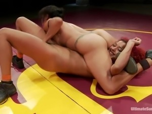 sluts wrestle dirty