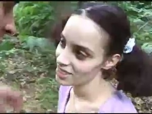 Older Dude Take a 18 Year Old Girl in to the Woods to Fuck Her free