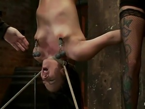 cute ashli tied whipped and suffocated