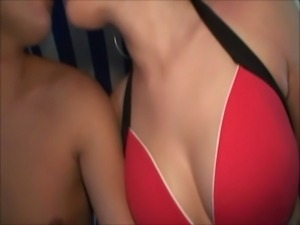 Taking several cocks at the spa free