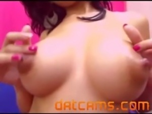 Kamila - Pretty Latina Milk and Anal Masturbation livesex freesex datcams.com...