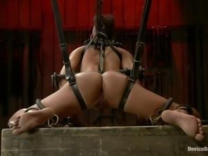 punk slut in chains just loves her punishment