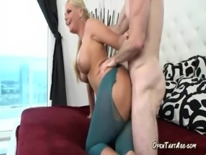 Blonde Mom Is Unstoppable Fuck Machine Once She Gets Going free