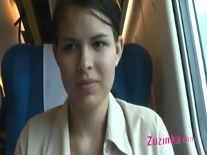 Naked pussy in a crowded train free