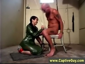 Mistress of femdom gets nasty with cbt free
