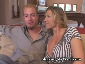 Hubby And Wife Invite Teen Over free