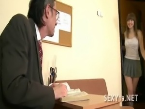 Tricky teacher seducing student free