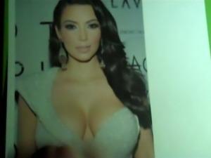 Cum Tribute - Kim Kardashian