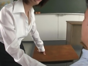 hot teacher gives me private lessons
