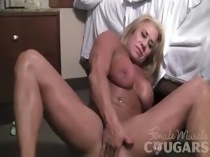 Li'l Doll Fingers Her Big Clit