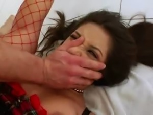 model with unbelievable anus penetrated