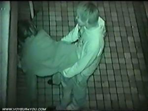 Public sex caught on spy cam