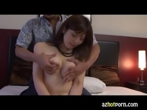 AzHotPorn.com - Lewd Amateur Cuckold Wives AV Try-Out free