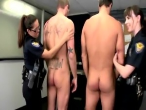 Hottest police babes getting fucked from behind free