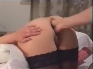 Double anal fisting mature