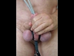 vigorous urethra play with 2 sounds 7 & 9 dia