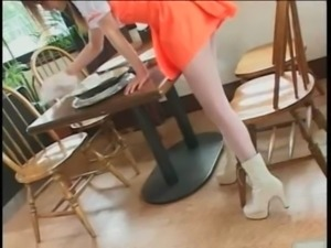 Japanese chicks show ass upskirt free