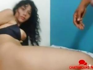 Deepthroat Anal Fail Latina Couple