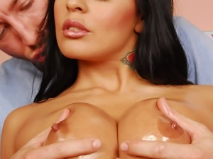 Mikayla Mendez sucks big balls and takes cumshots