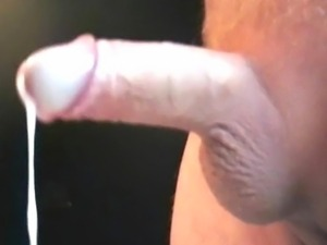 More of me spewing hot cum out of my throbbing cock