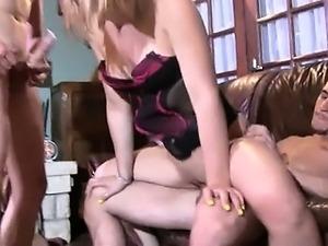 Nora double fucked