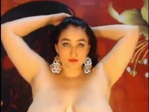 A busty lady