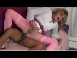 Young Black Boy fucks Tranny Livia (Trailer)