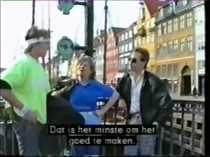 Danish retro teen in Nyhavn
