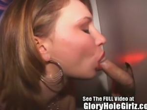 Kym gets vicious in the glory hole