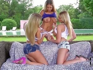 Lexi Lowe, Danielle Maye, and Eva Parcker are three beautiful
