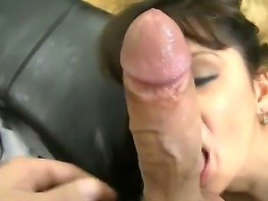 Awesome babe in sexy black stocking Alison Star likes posing naked for Rocco...