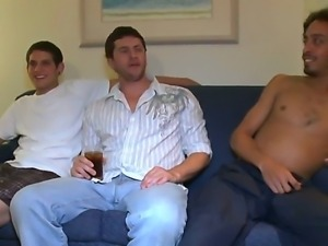 Crazy party with a bunch of guys and sexy babe Danica is about to get hot