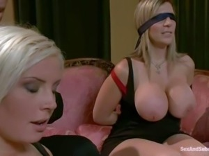 Sara Jay and Kait Snow are are to kinky curvy