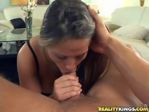 Gianna Jolie loves oral sex so much. She cheats on