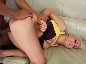 Horny stud Karlo Karrera enjoys deep fucking blonde pornstar Lexi Swallow