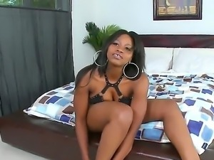 Black lady with a big ass Charmaine is getting her hole drilled by Cris Commando