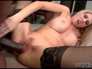 Angela attison enjoys big black dick