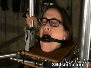 Kinky Babe In Abusive Bondage And Soothing Fetish