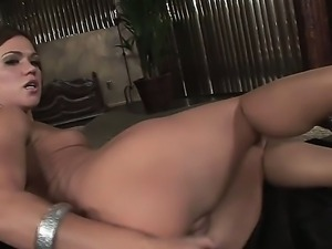 Sweet hottie Alyssa Reece is having an amazing solo masturbation scene