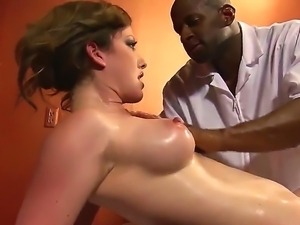 Black stud Prince Yahsua pleases young hottie Jennifer White with amazing...